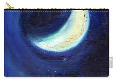 July Moon Carry-all Pouch by Nancy Moniz