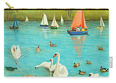 Keeping A Watchful Eye Carry-all Pouch by Pat Scott