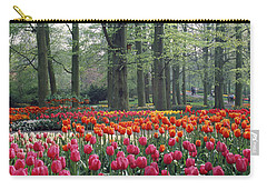 Keukenhof Garden, Lisse, The Netherlands Carry-all Pouch by Panoramic Images