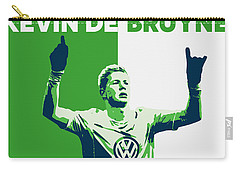 Kevin De Bruyne Carry-all Pouch by Semih Yurdabak