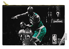 Kevin Garnett Not In Here Carry-all Pouch by Brian Reaves