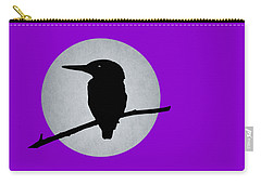 Kingfisher Carry-all Pouch by Mark Rogan