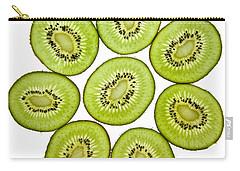Kiwifruit Carry-all Pouch by Nailia Schwarz