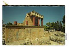 Knossos Palace  Carry-all Pouch by Rob Hawkins
