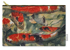 Koi Karp Carry-all Pouch by Gareth Lloyd Ball