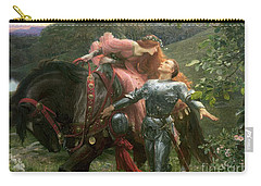 La Belle Dame Sans Merci Carry-all Pouch by Sir Frank Dicksee