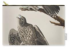 Labrador Falcon Carry-all Pouch by John James Audubon