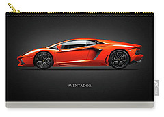Lamborghini Aventador Carry-all Pouch by Mark Rogan