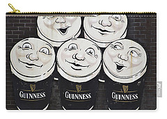 Late Night Guinness Limerick Ireland Carry-all Pouch by Teresa Mucha