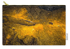 Carry-all Pouch featuring the photograph Lava by M G Whittingham