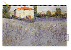 Lavender Carry-all Pouch by Guido Borelli