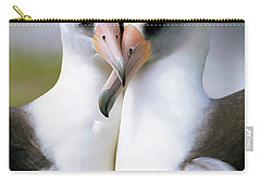 Laysan Albatross Phoebastria Carry-all Pouch by Tui De Roy