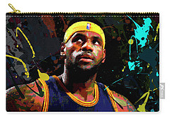 Lebron Carry-all Pouch by Richard Day