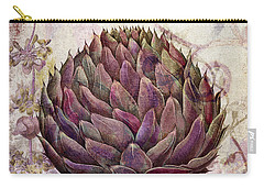 Legumes Francais Artichoke Carry-all Pouch by Mindy Sommers