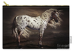 Leopard Appalossa Carry-all Pouch by Shanina Conway