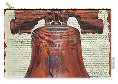 Life And Liberty Carry-all Pouch by Debbie DeWitt