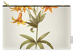 Lilium Penduliflorum Carry-all Pouch by Pierre Joseph Redoute