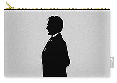 Lincoln Silhouette And Signature Carry-all Pouch by War Is Hell Store