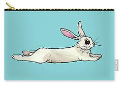 Little Bunny Rabbit Carry-all Pouch by Katrina Davis