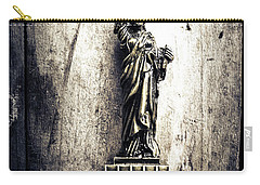 Little Lady Of Vintage Usa Carry-all Pouch by Jorgo Photography - Wall Art Gallery