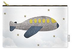 Little Plane Carry-all Pouch by Samuel Whitton
