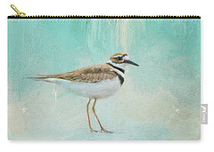 Little Seaside Friend Carry-all Pouch by Jai Johnson