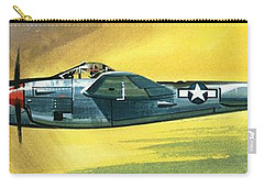 Lockheed P-38j Lightning Carry-all Pouch by Wilf Hardy