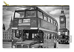 London Classical Streetscene Carry-all Pouch by Melanie Viola