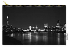 London Night View Carry-all Pouch by Mark Rogan