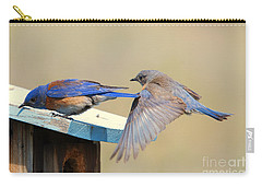 Look Behind You Carry-all Pouch by Mike Dawson