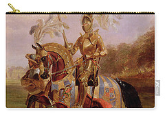Lord Of The Tournament Carry-all Pouch by Edward Henry Corbould