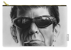 Lou Reed Carry-all Pouch by Greg Joens