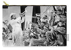 Louis Armstrong Carry-all Pouch by American School