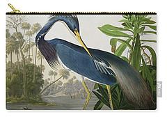 Louisiana Heron Carry-all Pouch by John James Audubon