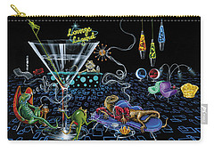 Lounge Lizard Carry-all Pouch by Michael Godard