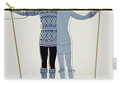 Lovers In The Snow Carry-all Pouch by Georges Barbier