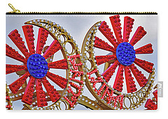 Luna Park Sign No. 5 Carry-all Pouch by Sandy Taylor