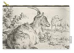 Lying Goat Carry-all Pouch by Adriaen van de Velde