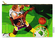 Magic And Bird Carry-all Pouch by Brian Reaves
