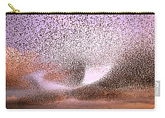 Magic In The Air - Starling Murmurations Carry-all Pouch by Roeselien Raimond