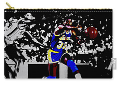 Magic Johnson Bounce Pass Carry-all Pouch by Brian Reaves