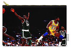 Magic Johnson No Look Pass 7a Carry-all Pouch by Brian Reaves