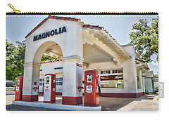 Magnolia Gas - Little Rock Carry-all Pouch by Stephen Stookey