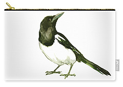 Magpie Carry-all Pouch by Suren Nersisyan