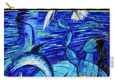 Majestic Bleu Carry-all Pouch by Mona Edulesco