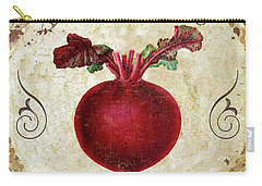 Mangia Radish Carry-all Pouch by Mindy Sommers