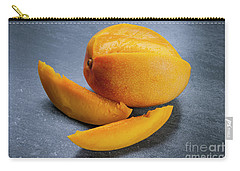 Mango And Slices Carry-all Pouch by Elena Elisseeva
