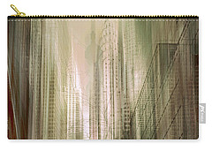 Manhattan Mayhem Carry-all Pouch by Jessica Jenney
