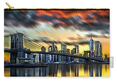 Manhattan Passion Carry-all Pouch by Az Jackson