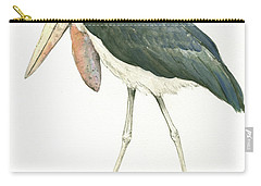 Marabou Carry-all Pouch by Juan Bosco